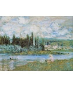 Claude Monet, Ansicht von Vetheuil sur Seine, 1880