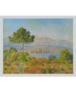 Claude Monet, Antibes vom Hügel &#39Notre Dame&#39 aus gesehen
