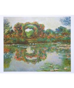 Claude Monet, Blühende Rundbögen in Giverny - 1913
