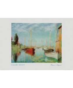 Claude Monet, Boote bei Argenteuil