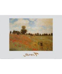 Claude Monet, Coquelicots - Das Mohnfeld, 1873