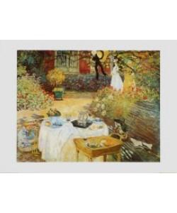 Claude Monet, Das Frühstück, um 1873