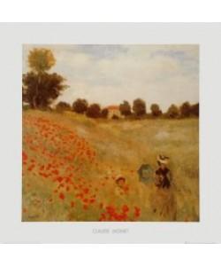 Claude Monet, Das Mohnfeld (Ausschnitt)
