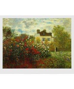 Claude Monet, Der Garten des Künstlers in Argenteuil