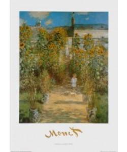 Claude Monet, Der Garten des Künstlers in Vetheuil