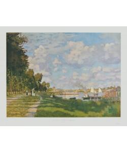 Claude Monet, Der Hafen von Argenteuil (Seinebecken)