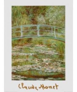 Claude Monet, Die Japanische Brücke über den Seerosenteich