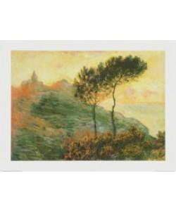 Claude Monet, Die Kirche von Varengeville, 1882