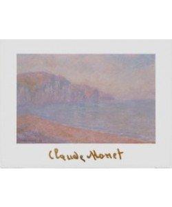 Claude Monet, Die Steilküste bei Pourville am Morgen, 1897