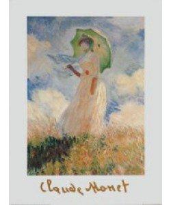 Claude Monet, Frau mit Sonnenschirm, 1886