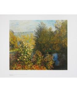 Claude Monet, Gartenecke in Montgeron