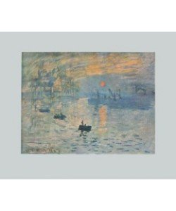 Claude Monet, Impression (Bütten) (Büttenpapier)