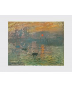 Claude Monet, Impression, Sonnenaufgang, 1872