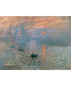 Claude Monet, Impression (Sonnenaufgang)