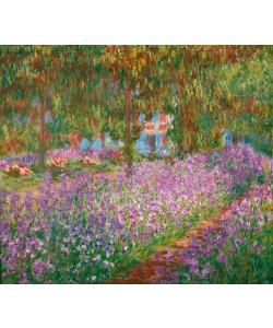 Claude Monet, Irisbeet in Monets Garten