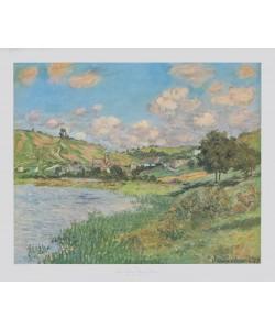 Claude Monet, Landschaft bei Vétheuil