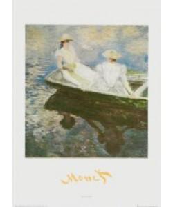Claude Monet, Mädchen im Boot, 1887