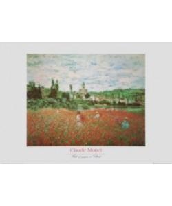 Claude Monet, Mohnfeld bei Vetheuil