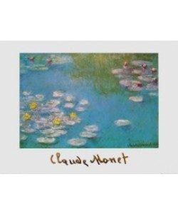 Claude Monet, Ninfee, 1908 - Seerosen