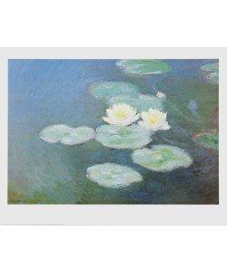 Claude Monet, Nymphéas im Abendlicht (Detail)