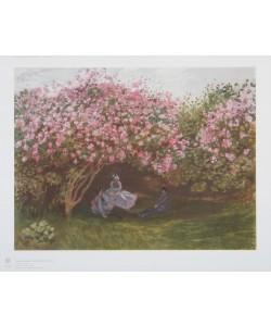 Claude Monet, Rast unter Flieder