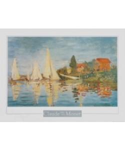 Claude Monet, Regatta bei Argenteuil, ca.1872