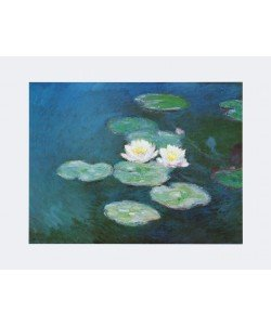 Claude Monet, Seerosen am Abend