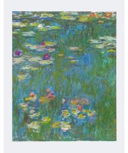 Claude Monet, Seerosenteich (Ausschnitt)