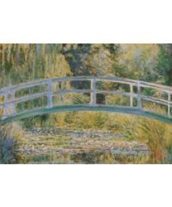Claude Monet, Seerosenteich mit Brücke - 1899 (Ausschnitt)