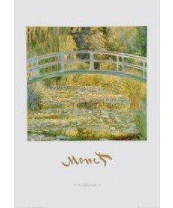 Claude Monet, Seerosenteich mit Brücke - 1899