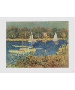 Claude Monet, Sommertag (Seine bei Argenteuil) (Kupfertiefdruck)