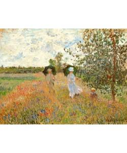 Claude Monet, Spaziergang bei Argenteuil