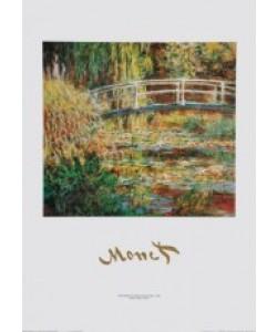 Claude Monet, The Waterlily Pond (Japanese Bridge - 1900)