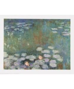 Claude Monet, Water Lilies - Seerosen