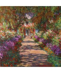 Claude Monet, Weg in Monets Garten in Giverny