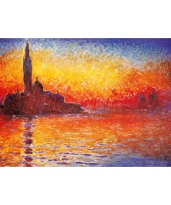 Claude Monet, Venedig bei Sonnenuntergang