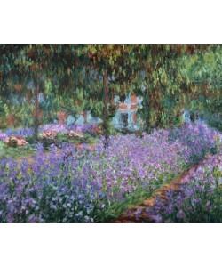 Claude Monet, Blühende Iris in Monets Garten