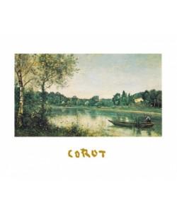 Jean-Baptiste Camille Corot, L'étang de ville d'Avray
