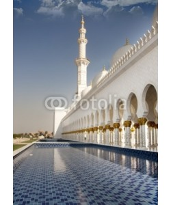 creativei, Sheikh Zayed Mosque side view