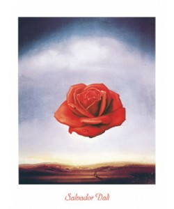 Salvador Dali, Rose Meditative
