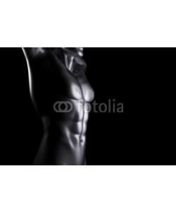 dampoint, Iron man on black background