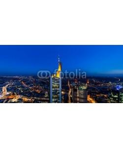 davis, Frankfurt Main Tower Panorama at night