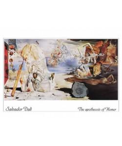 Salvador Dali, The apotheosis of Homer