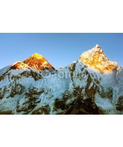 Daniel Prudek, Evening view of Everest and Nuptse from Kala Patthar