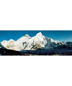 Daniel Prudek, evening view of Everest and Nuptse from Kala Patthar