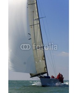 Darren Baker, racing yacht
