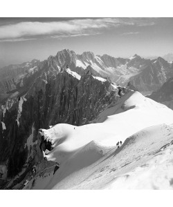 Dave Butcher, Descent to the Vallee Blanche, Chamonix