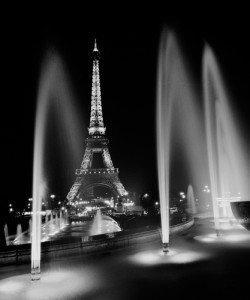 Dave Butcher, Eiffel Tower Fountains