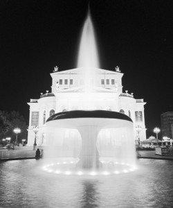 Dave Butcher, Frankfurt Alte Oper at Night