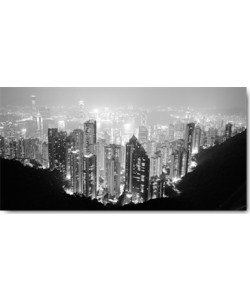 Dave Butcher, Hong Kong Skyline at Night
